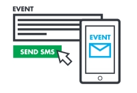 Communication with customers via SMS