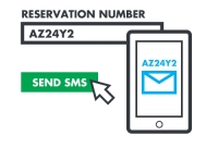 Send important information to your customers' mobile via SMS!