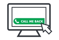 Direct telephone contact with your website visitors using Click2Call®!
