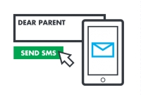 Communication with parents via SMS