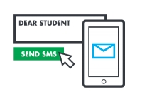 Communication with students via SMS